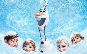 Картинка Frozen, 2013, Walt Disney Animation Studios, Холодное Сердце
