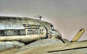 Картинка авиация, самолёт, douglas