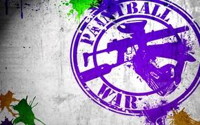 Обои поверхность, креатив, фон, надпись, краски, спорт, игра, позитив, текстура, шлем, кляксы, war, гранж, тактический, wallpaper., ...