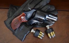 Картинка оружие, револьвер, кобура, Colt