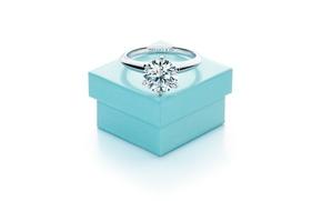 Картинка стиль, коробка, кольцо, украшение, свадьба, Tiffani& Co