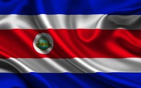 Картинка flag, Costa Rica, costa rica
