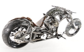 Картинка дизайн, стиль, фон, двигатель, мотоцикл, форма, аэрография, байк