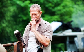 Картинка The Walking Dead, Ходячие мертвецы, Майкл Рукер, Michael Rooker
