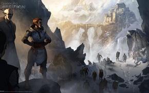 Картинка снег, горы, поход, Dragon Age: Inquisition