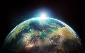 Картинка earth, space, amazing