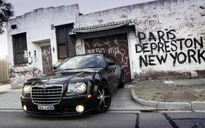 Картинка Chrysler, SRT8, 300C, крайслер