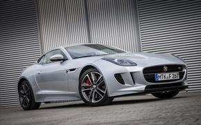 Картинка Jaguar, гараж, парковка, F-Type S, Coupé AWD