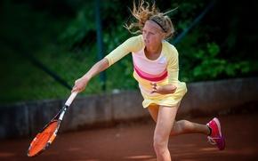 Картинка теннисистка, Юлия Тим, Julia Thiem