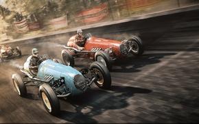 Картинка гонка, retro, render, race, финиш, nascar
