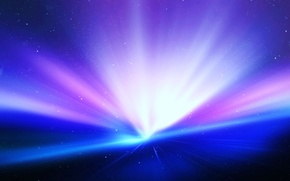 Обои steve jobs, сияние, звёзды, вселенная, Mac, красиво, Apple, iPhone, космос