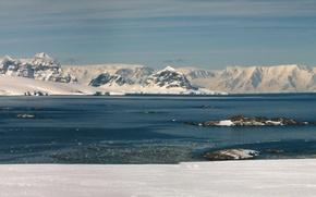 Картинка Природа, Горы, Снег, Панорама, Пейзаж