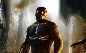 Картинка Crysis 2, nanosuit, Alcatraz, James Rodriquez