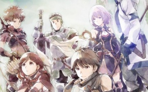 Картинка Art, Grimgar of Fantasy and Ash, Hai to Gensou no Grimgar, Mutsumi Okubashi