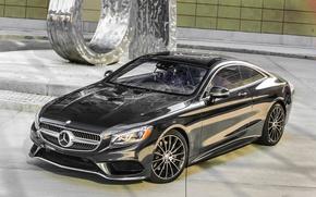 Картинка Mercedes-Benz, мерседес, AMG, амг, 2014, S 550, S-Class, C217