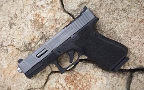 Картинка пистолет, фон, Glock 19, Mk 2