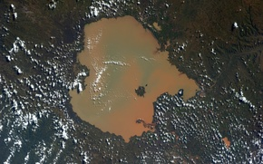 Картинка Earth from space, Ethiopia, Lake Tana