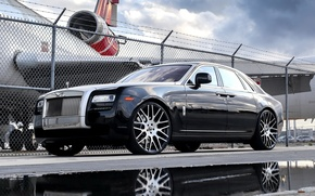Картинка wheels, Rolls Royce, Ghost, with, Forgiato