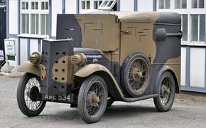 Картинка «Остин», бронеавтомобиль, мировой, легкий, войны, Первой, Armoured Austin