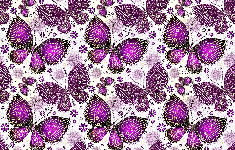 Фото обои бабочки, узор, крылья