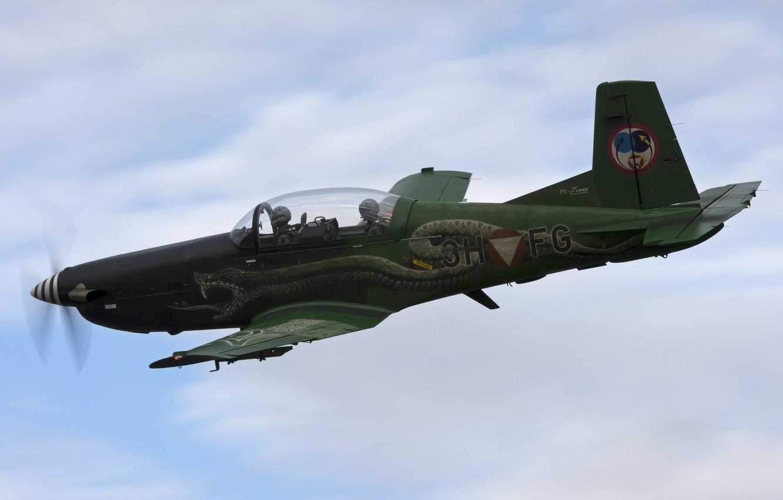 Обои pc-7, тренировочный, Самолёт. Авиация foto 7