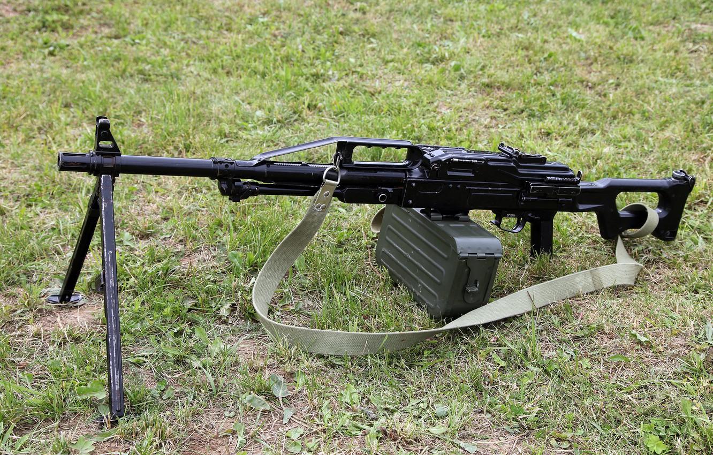 Фото обои ручной пулемёт ПКП, Печенег, Pecheneg