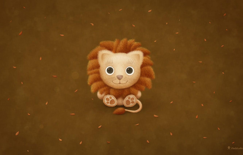 Фото обои Лев, Mac, Lion