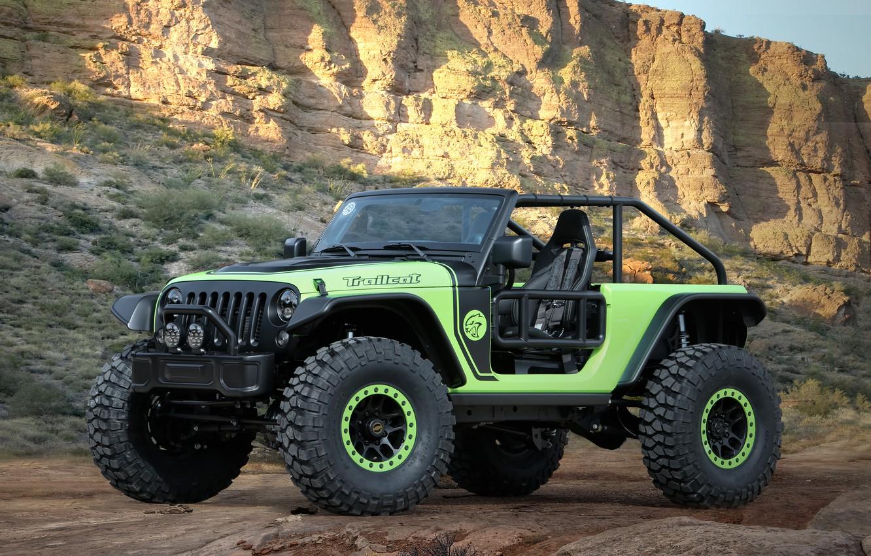 Фото обои Concept, внедорожник, Jeep, 2016, Trailcat