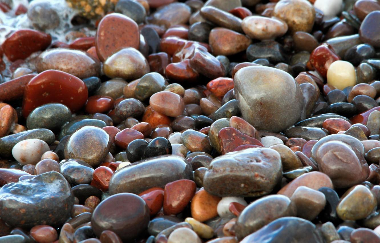 Мокрые камни фото