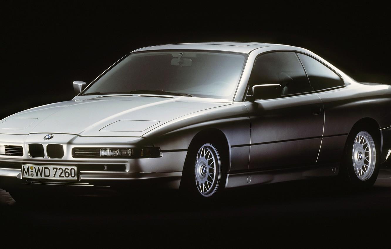 Фото обои купе, BMW, E31, 1989, Gran Turismo, 8-series