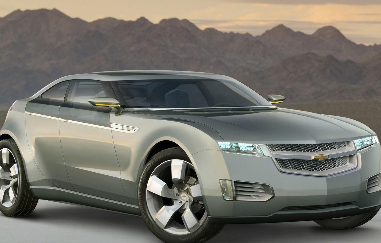 Фото обои Concept, Chevrolet, Volt