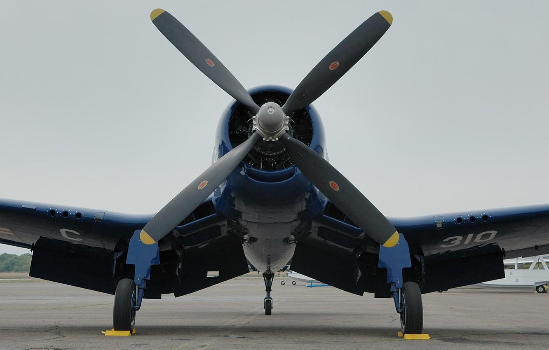 Обои Вторая мировая, F4u corsair, chance vought. Авиация foto 8