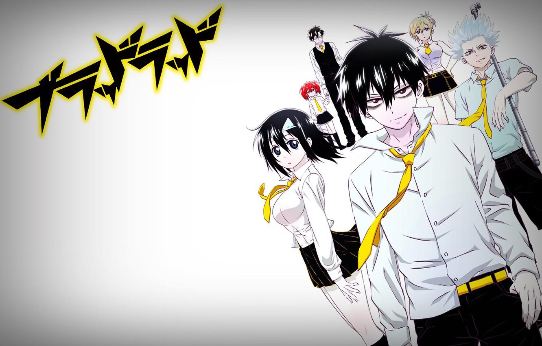 Фото обои аниме, арт, Blood Lad, кровавый парень