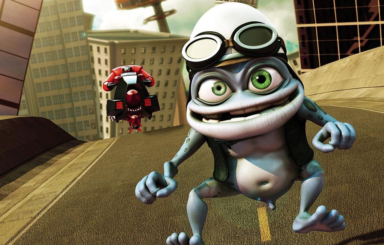 Скачать песню crazy frog-crazy frog.