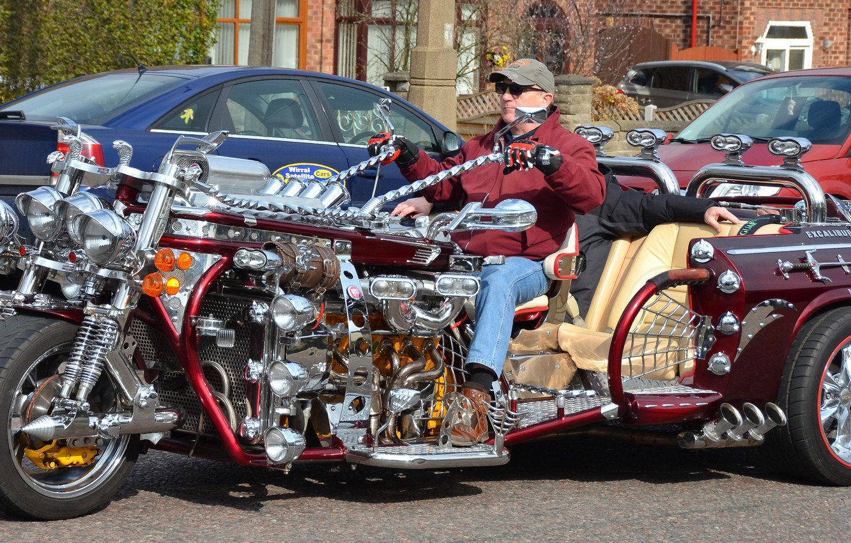 Фото обои мотоцикл, байк, чудо техники
