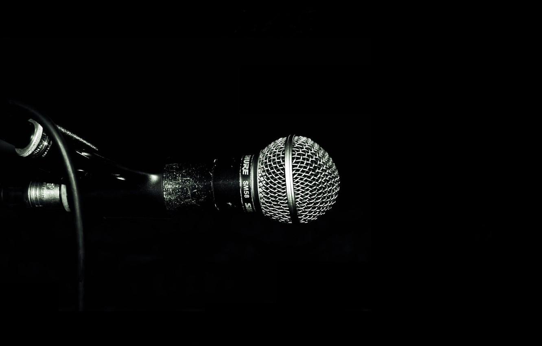 Обои микрофон, стиль, музыка. Музыка foto 14
