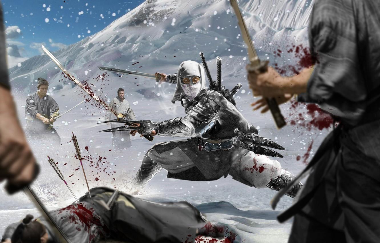 ниндзя воины картинки новый