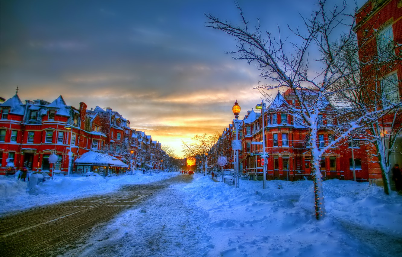картинки зимний город красивые дома девушки, мечтающие стройных