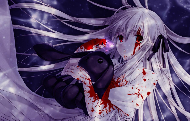 Кровавые картинки аниме арты