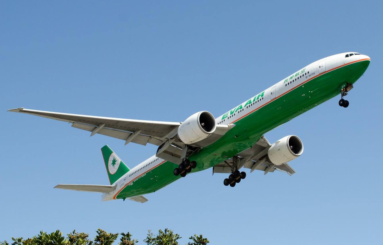 Обои 777, пассажирский, Самолёт, авиалайнер, боинг, boeing, 300. Авиация foto 10