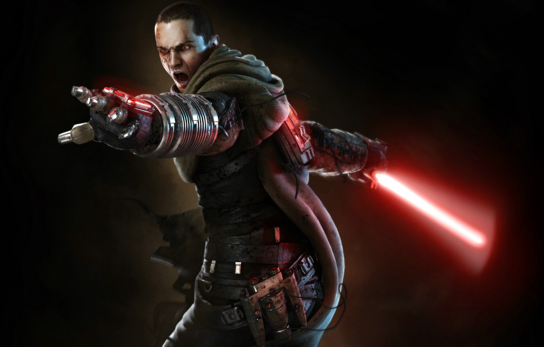 Фото обои Star Wars, Звездные Войны, SW The Force Unleashed, Старкиллер, Световой Меч, Гален Марек, Galen Marek, …