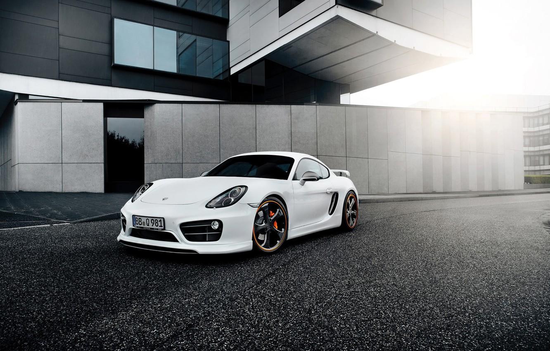 Обои Porsche cayman, Techart, car, тюнинг. Автомобили foto 15