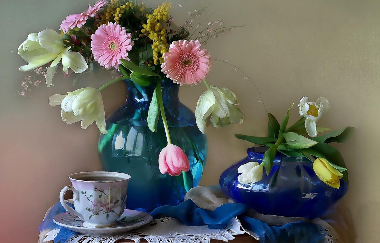 Обои цветы, чай, натюрморт. Разное foto 9