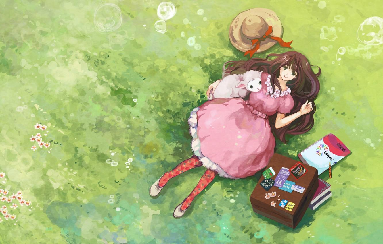 Позитивные картинка аниме