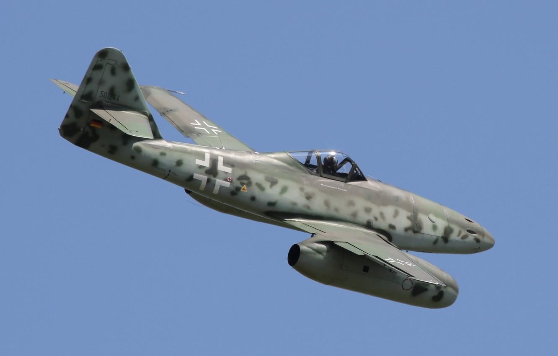 Обои реактивный, me.262, истребитель, бомбардировщик. Авиация foto 6