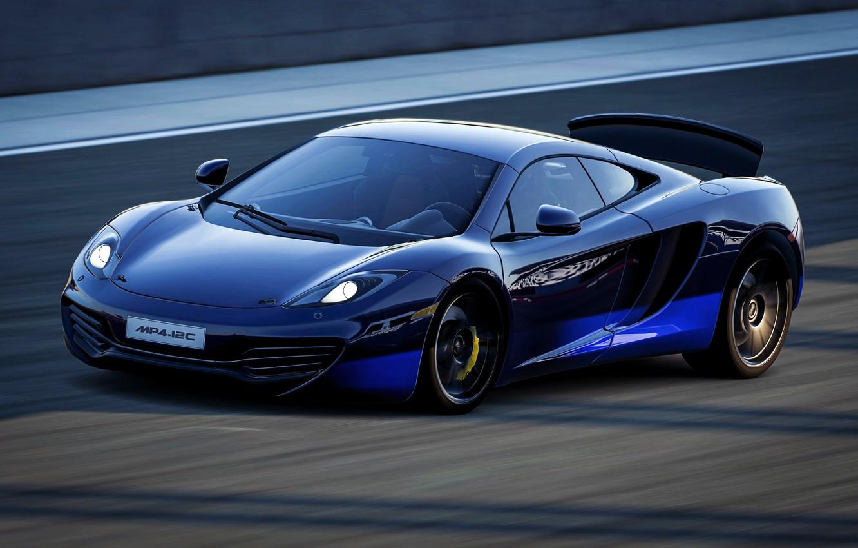 Фото обои McLaren, скорость, MP4-12C
