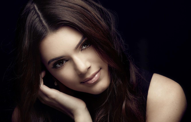 Фото обои девушка, улыбка, милая, красивая, Kendall Jenner
