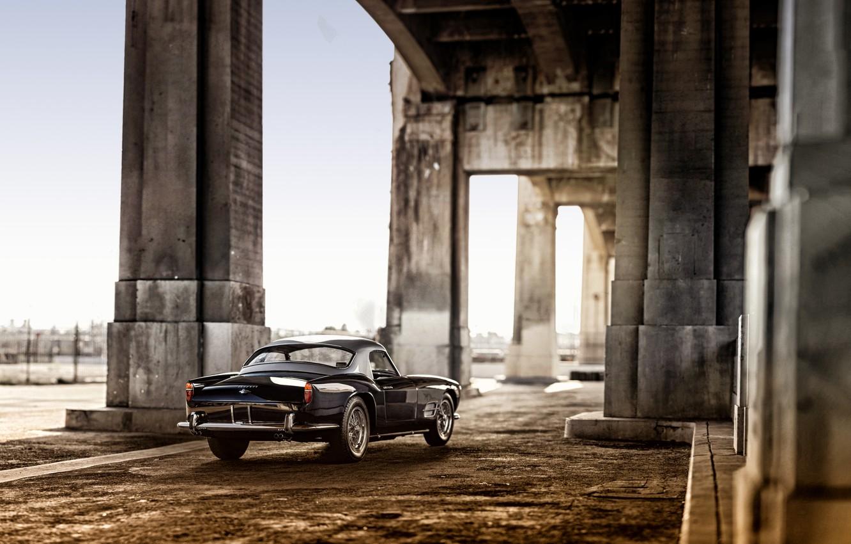 Фото обои Ferrari, феррари, Spyder, California, 1959, 250 GT, Passo Lungo