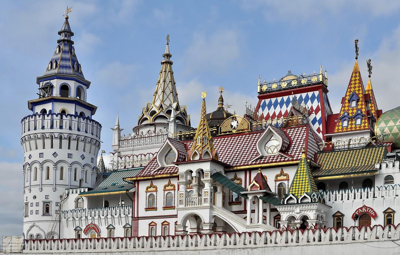 Фото обои Москва, Россия, архитектура, Измайловский Кремль