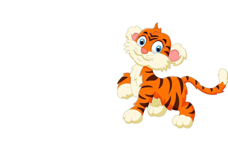 Картинка на прозрачном фоне тигр для детей